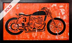 Thumb-orange-motorcycle-popart-painting-by-artist-Moses-Shahrivar-Sthlm-Art