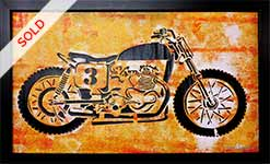 Thumb-yellow-motorcycle-popart-painting-by-artist-Moses-Shahrivar-Sthlm-Art