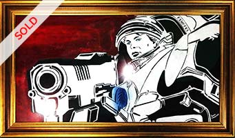 thumb-Popart-Starcraft-by-the-artist-Moses-Shahrivar-Sthlm-Art